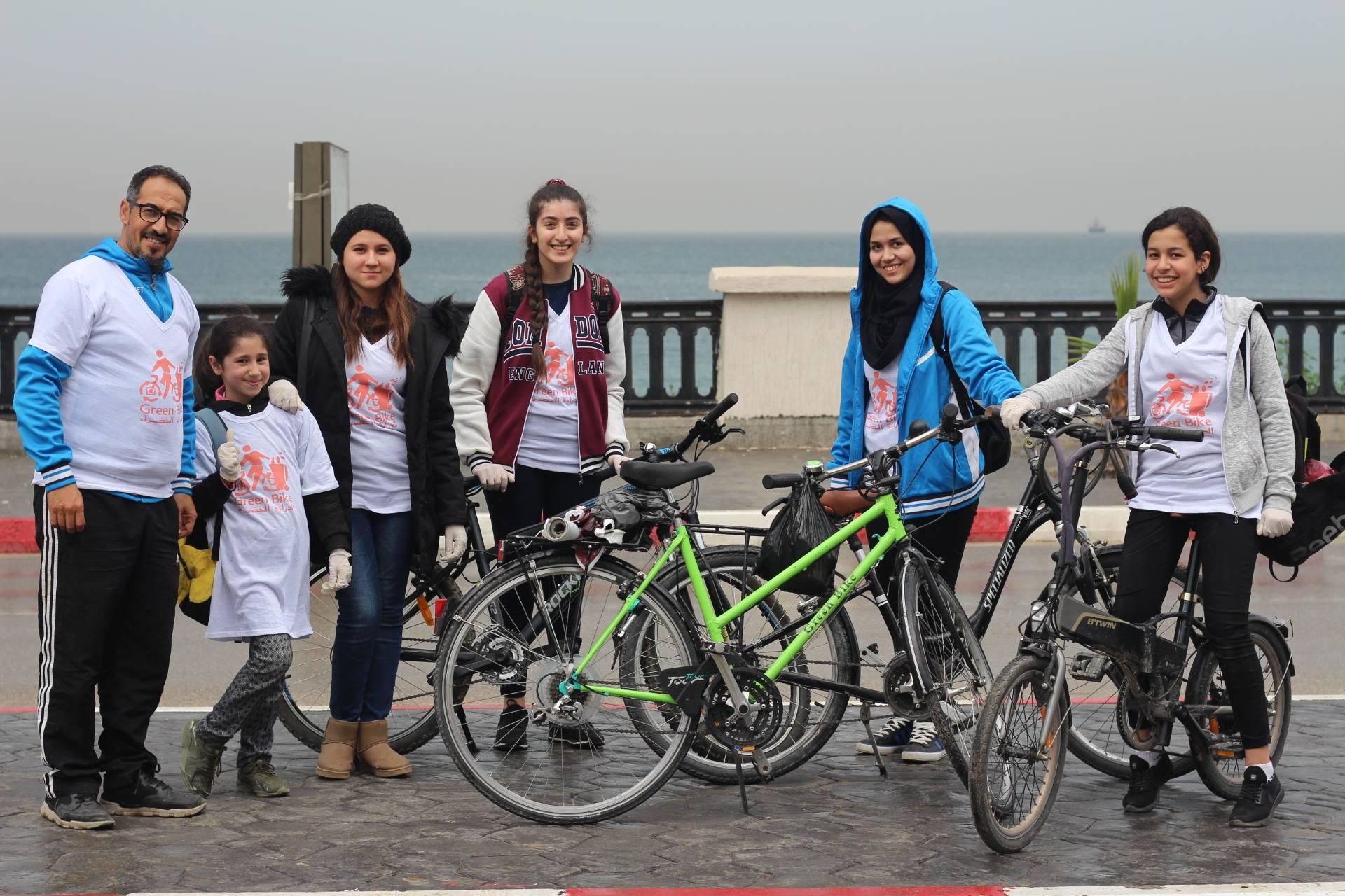 عملية الدراجة الخضراء - Green women - GREEN BIKE