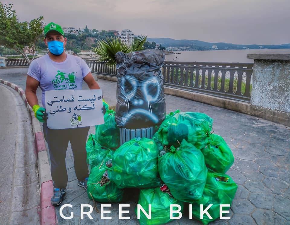 الموجة الخضراء  - شاطىء فيدرو - GREEN BIKE