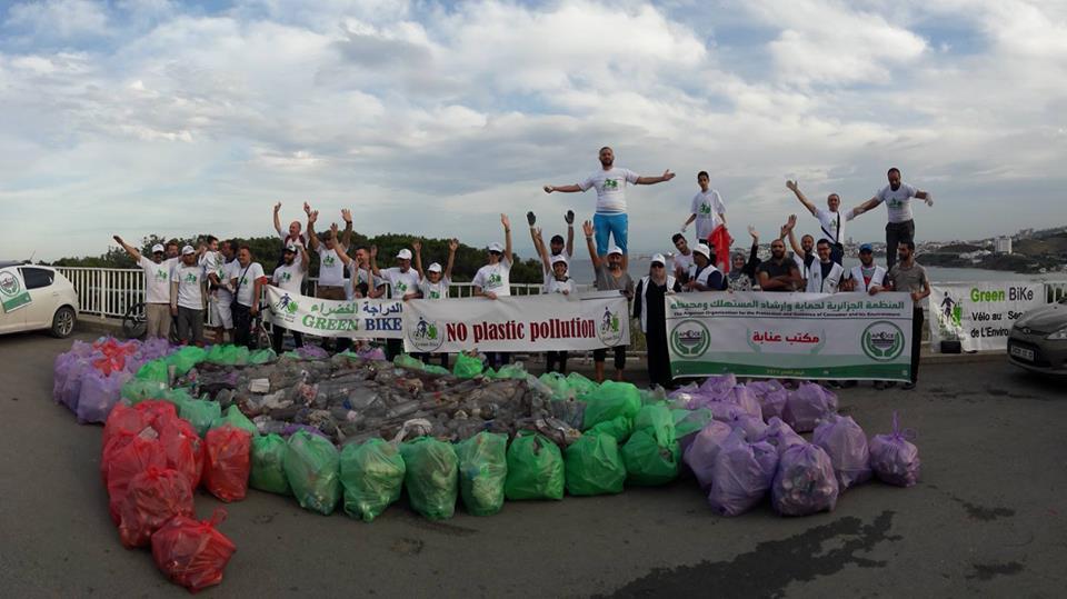 حملة تنظيف بمناسبة اليوم العالمي للبيئة - GREEN BIKE